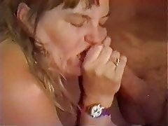 Blowjob, Mature, Group Sex, Vintage, Facial