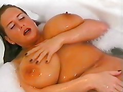 BBW, Big Boobs, Massage, Shower