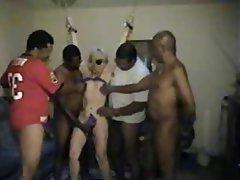 Amateur interracial gangbang pics