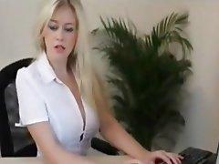 Big Boobs, Blonde, Pornstar, POV