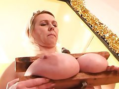 Mature with huge tits danal