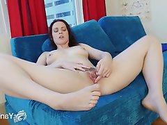 Amateur, Brunette, Masturbation, Small Tits, Softcore