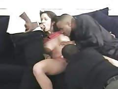 Black girl stripped naked