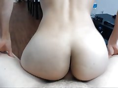 Was Girl rides small cock