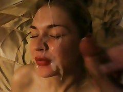 Homemade fuck and facial, hentai anal sex with construction outside