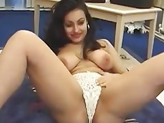 British, Double Penetration, Masturbation, Pornstar