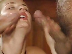2 horny eyelashqueens double blowjobbing lucky guy 4