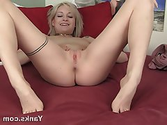Amateur, Blonde, Masturbation, Softcore