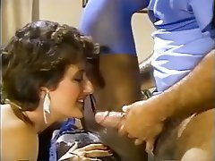 Cumshot, Interracial, Pornstar, Threesome, Vintage