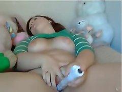 Amateur, BBW, Big Boobs, Masturbation, Webcam