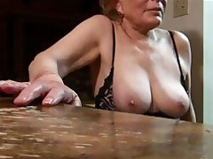 mature handjob Amateur