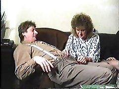 Blowjob, German, Group Sex, MILF, Stockings