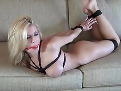 Anal, BDSM, Blonde, Bondage