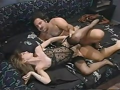 Vintage stocking fuck